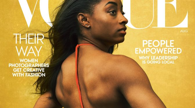 MAG TAG: #SimoneBiles covers #Vogue! [Pics]