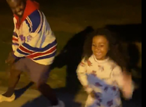 #KanyeWest shaking his ASS with North is a pleasant SURPRISE! [VID]