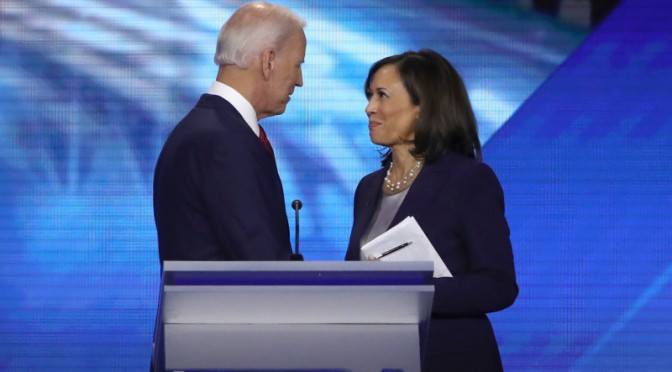 Presumptive Democratic presidential candidate #JoeBiden taps #KamalaHarris as VP running mate! [Details]