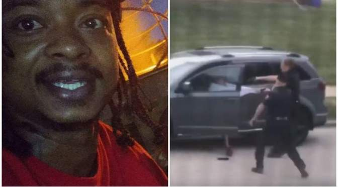 Graphic video of police shooting of #JacobBlake incites PROTEST in Wisconsin! [Vid]