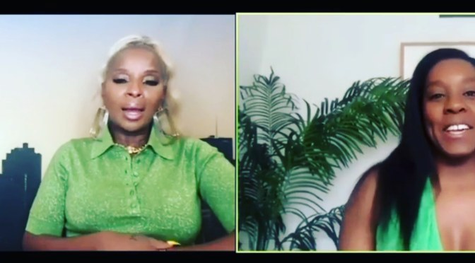 #MaryJBlige does not want to be your 'Auntie'! [Vid]