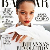 MAG TAG: #Rihanna takes the trash out in DIAMONDS for #HarpersBazaar![pics]