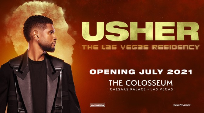 #Usher secures #Vegas residency for 2021 at #CaesarsPalace! [Vid]