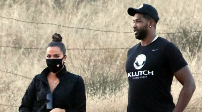 STAR TRACKS: #KhloeKardashian & #TristanThompson SPOTTED out HIKING! [PICS]