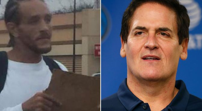 #MarkCuban picked up a homeless #DelonteWest and is helping him! [Details]