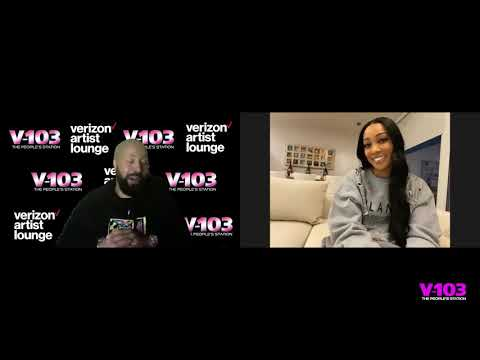 #Monica sat down with #V103's #KennyBurns to discuss #Verzuz, new music & MORE! [Vid]