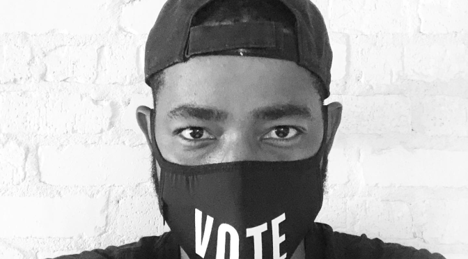 #InsecureHBO's #JayEllis reminds us to VOTE! [PIC]