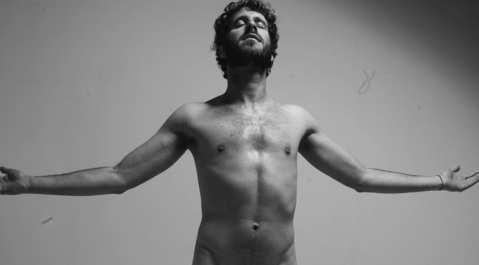 #LilDicky STRIPS naked to urge fans to VOTE! [PIC]