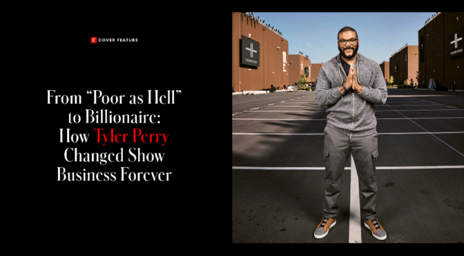 #TylerPerry is a BILLIONAIRE according to #Forbes! [Details]