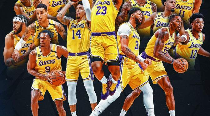 Congrats! #Lakers are the 2019-20 #NBA Champs! [Vid]