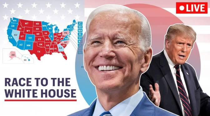 LIVE COVERAGE of #ELECTION2020 from Pennsylvania & NYC as #JoeBiden WINS! [LIVESTREAM]