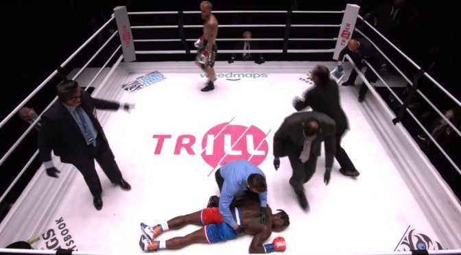 #JakePaul DEMOLISHES #NateRobinson in BRUTAL KO!! [VID]