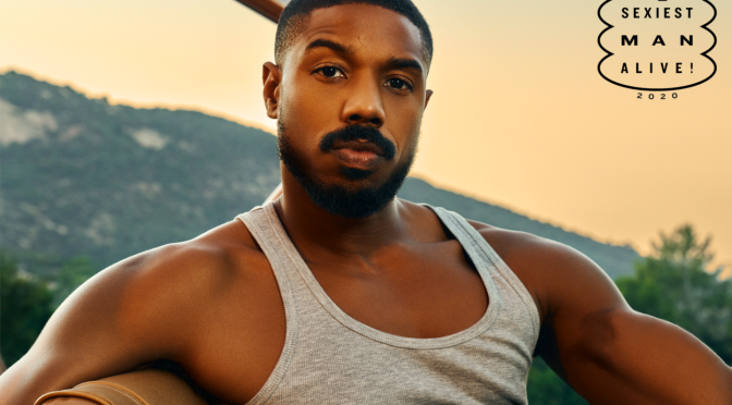 MAG TAG: #MichaelBJordan named #People's 'Sexiest Man Alive' 2020! [Pics]