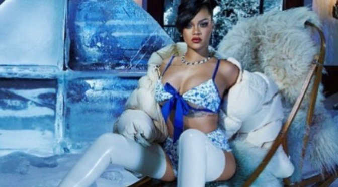 #Rihanna is ICY HOT in new #SavagexFenty Winter Looks![PICS]