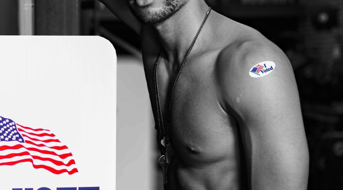 #ThirstTrap the VOTE!- #Insecure's #KendrickSampson reminds fans to #VOTE! [PIC]