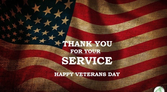 #HappyVeteransDay! Thank You for your SERVICE! [details]