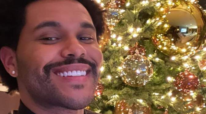 Selfie of the Day: #TheWeeknd is READY for #Christmas! [Pic]