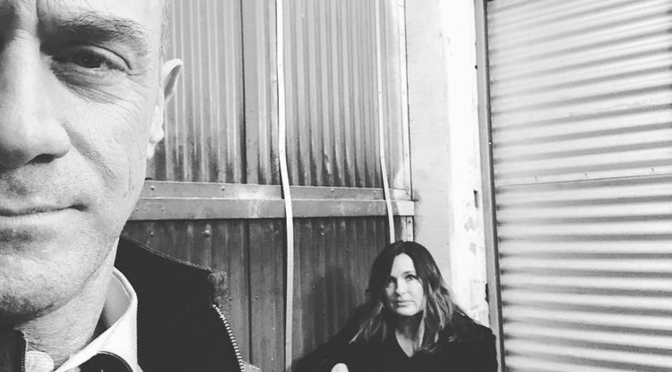 #SVU Reunion: #ChrisMeloni & #MariskaHargitay TEASE NEW 'Law & Order'series! [Pics]
