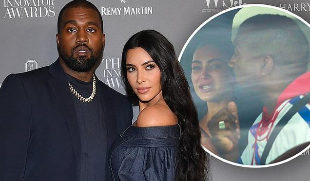 #KimKardashian officially files for DIVORCE from #KanyeWest! [Details]