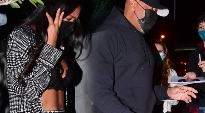 #DrDre &  #LHHH star #AprylJones SPARK dating rumors! Seen together at #BOA Steakhouse in L.A.! [vid]
