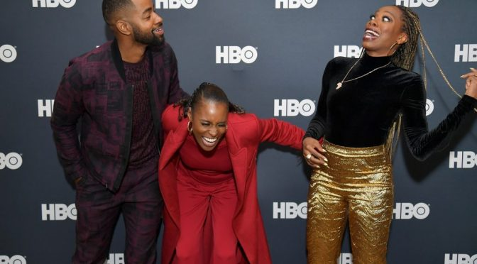 #InsecureHBO: #JayEllis #Facetimes his fellow castmates and no one answers But #IssaRae! [vid]