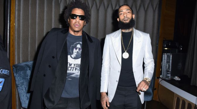 #LebronJames TEASES new #JayZ/ #NipseyHussle collab from 'JUDAS' soundtrack! [vid]