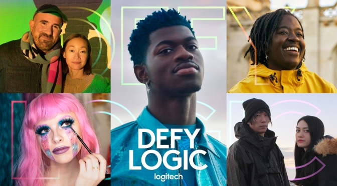 #LilNasX has a #SuperBowlLV ad for #LogiTech! [vid]