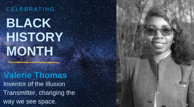 #BlackHistoryMonth Moment: #NASA scientest and inventor #ValerieThomas invented 3d Movies and MORE! [details]
