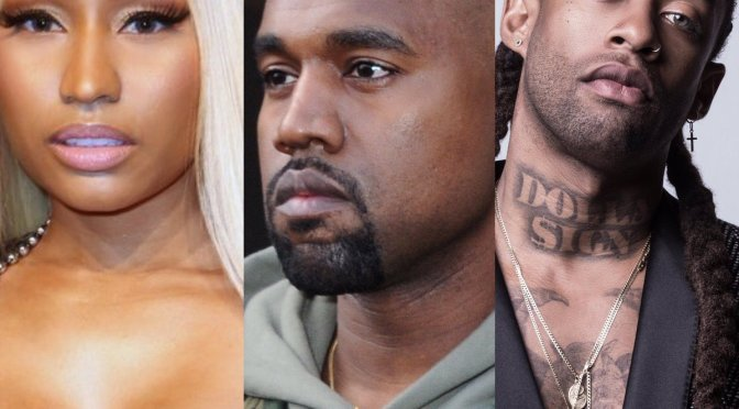 WAKE UP JAM: #KanyeWest #NickiMinaj #TyDollaSign  'New Body' [audio]