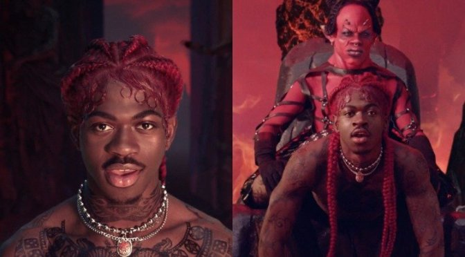 NEW VIDEO: #LilNasX 'Montero (Call Me By Your Name) [vid]