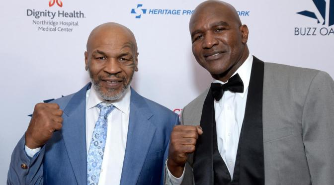 #MikeTyson #EvanderHoleyfield fight IS INDEED happening in MAY! [details]