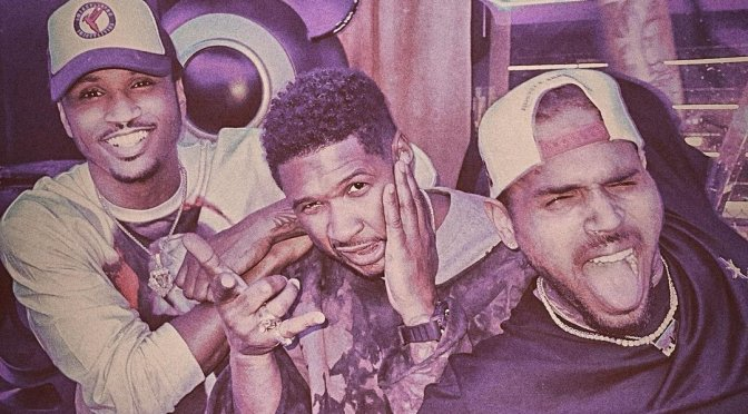 STAR TRACKS: #Usher #ChrisBrown #TreySongz spotted TOGETHER in the studio! [pics]