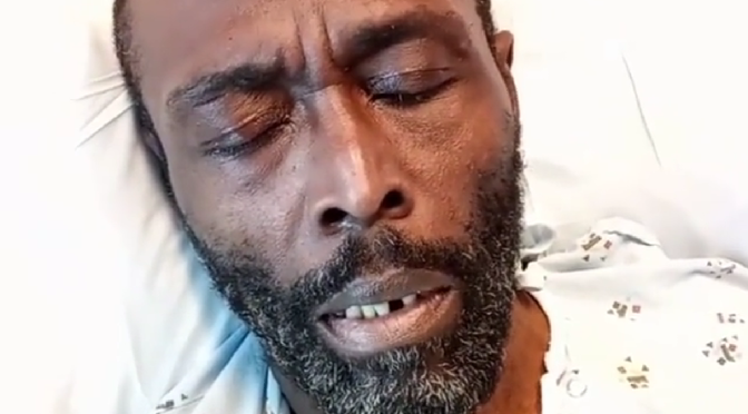 #BadBoy rapper #BlackRob shares tribute to #DMX from hospital bed causing fans to speculate about his health condition! [vid]