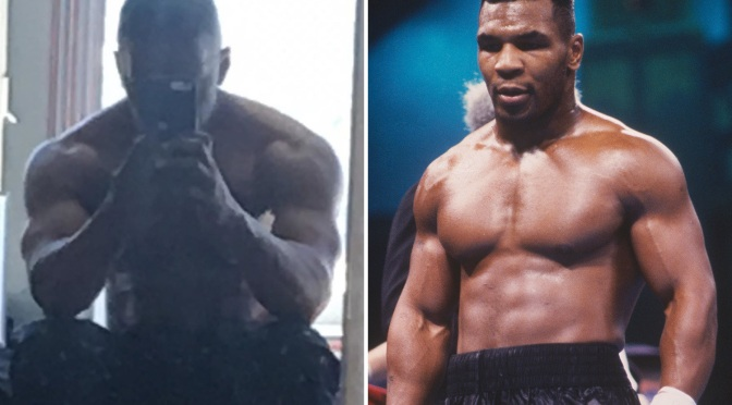 #JamieFoxx BULKING up for #MikeTyson role! [pics]