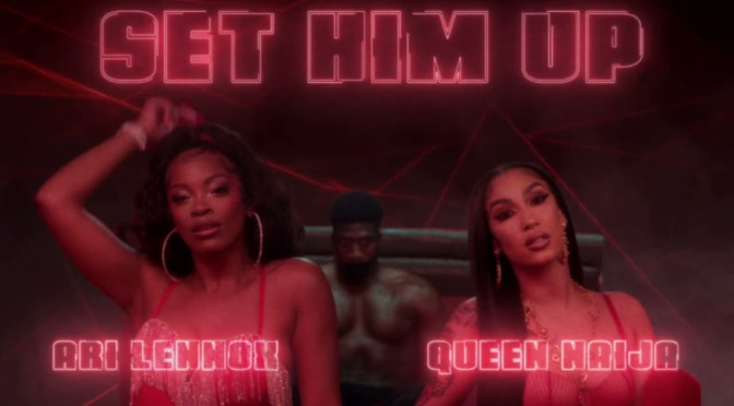 NEW MUSIC: #QueenNaija & #AriLennox 'Set Him Up' [audio]