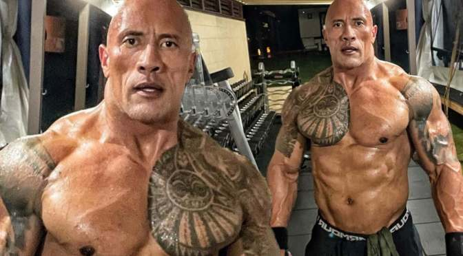 #AfterDark: #TheRock #NSFW pics LEAK!! [pic]