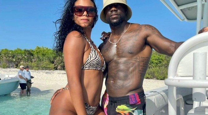 #ThirstTrap Couples: #KevinHart & Eniko on vacay![pics]
