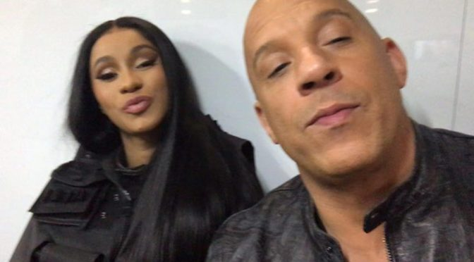 #VinDiesel CONFIRMS #CardiB will appear in FUTURE #FastAndFurious movies! [VID]
