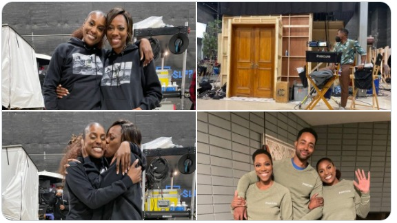 #IssaRae & cast officially WRAP on #InsecureHBO series! Cast REACTS! [vid]