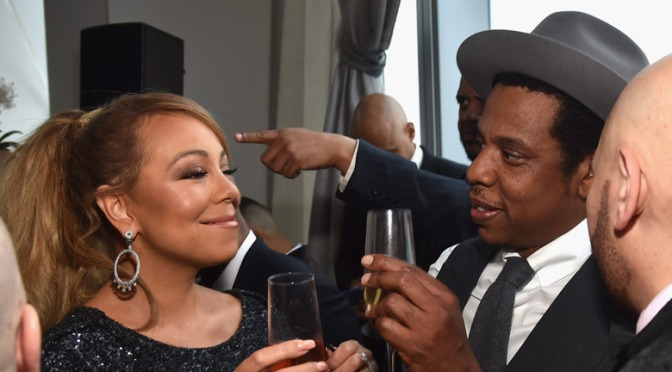#MariahCarey SHOOTS DOWN rumors she left #RocNation after 'HUGE BLOW-UP' with #JayZ! [details]