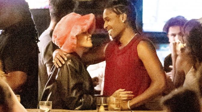 STAR TRACKS: #Rihanna & #AsapRocky have a Date Night out in #NYC! DENIED entry into Club! [vid]