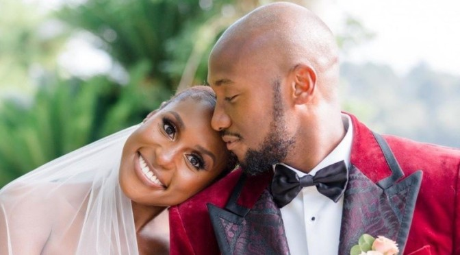 #MarriedAF! #IssaRae PRIVATELY WEDS #LouisDiame in the South of France ceremony! [pics]
