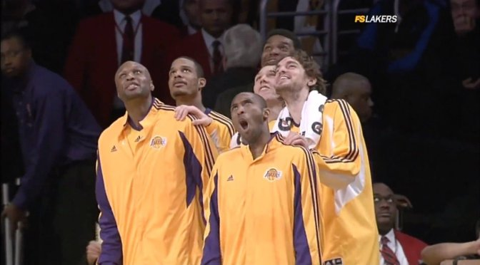 Remember the time… #Lakers #ShannonBrown cleared the bench with the ULTIMATE chase down BLOCK! [vid]