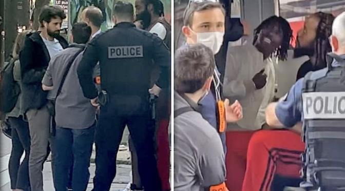 #LilBaby & #JamesHarden STOPPED by police in Paris! #LilBaby arrested for weed allegedly!! [vid]
