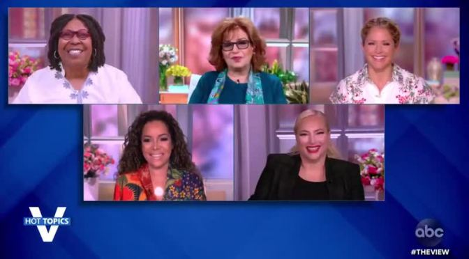 #WhoopiGoldberg and #TheView cohosts get EMOTIONAL as #MeghanMcCain makes her EXIT announcement! [vid]