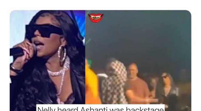 #Ashanti talks about the #Nelly HUG at #Verzuz! [vid]