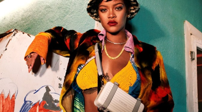 Hot Shot of the Day: #Rihanna for #Rimowa travel accessories! [Pics]