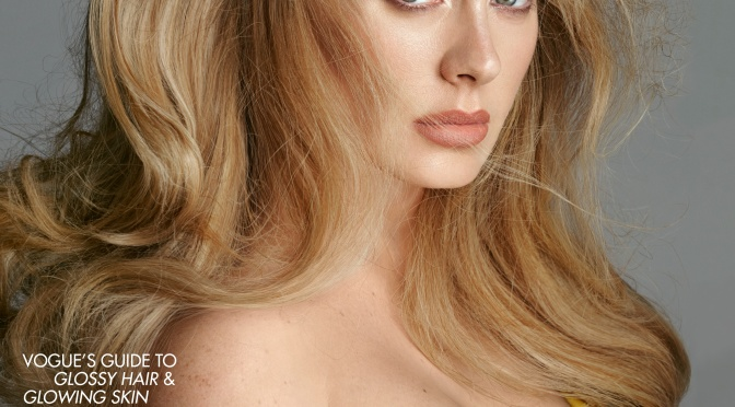MAG TAG: #Adele STUNS for British #Vogue! [Pic]
