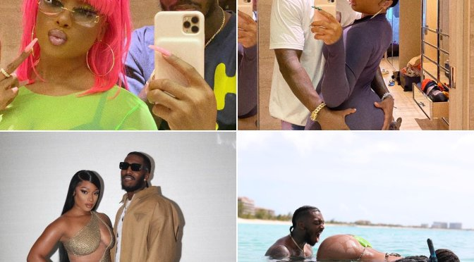 #MeganTheeStallion's beau #Pardi WENT ALL OUT for the couple's 1 year anniversary! [vid]