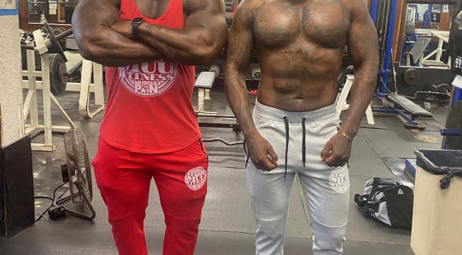 #Ceaser from #BlackInkCrew been getting RIPPED! [VIDS]
